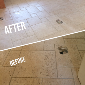 Tile and Grout Monster CARRICKFERGUS Stone Floor Cleaning 11