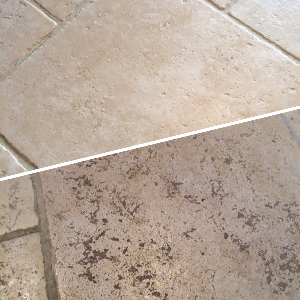 Tile and Grout Monster CARRICKFERGUS Stone Floor Cleaning 12