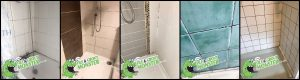 dirty shower cleaning GROUT MONSTER BELFAST