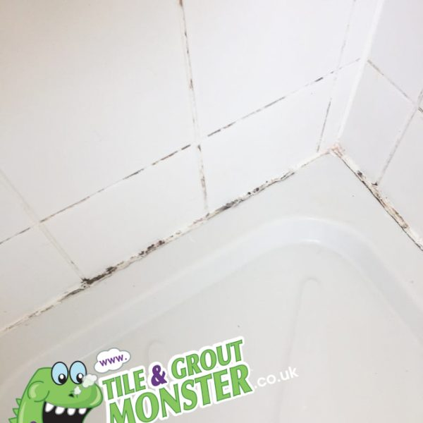 Tile cleaning service, bathroom shower restored, Northern Ireland