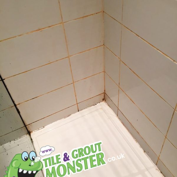 fake tan out of shower grout belfast, tile and grout monster bathroom tiles & grout cleaning service