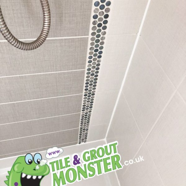 CLEANED SHOWER BELFAST, TILE AND GROUT MONSTER