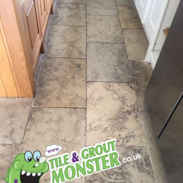 marble stone floor. ANTRIM deep cleaned tile and grout monster belfast