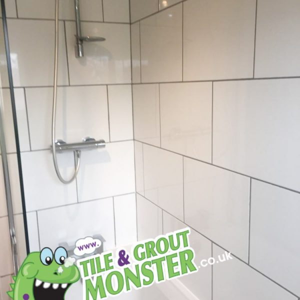 GROUT MONSTER BANGOR updating tiles and grout in bathroom